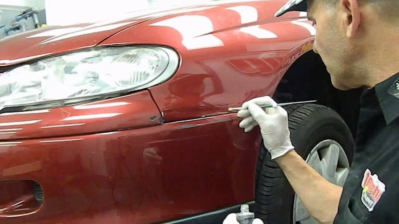 light scratches of your car