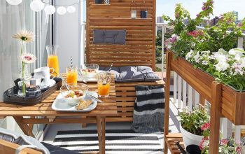 10 tips to decorate small balconies with charm