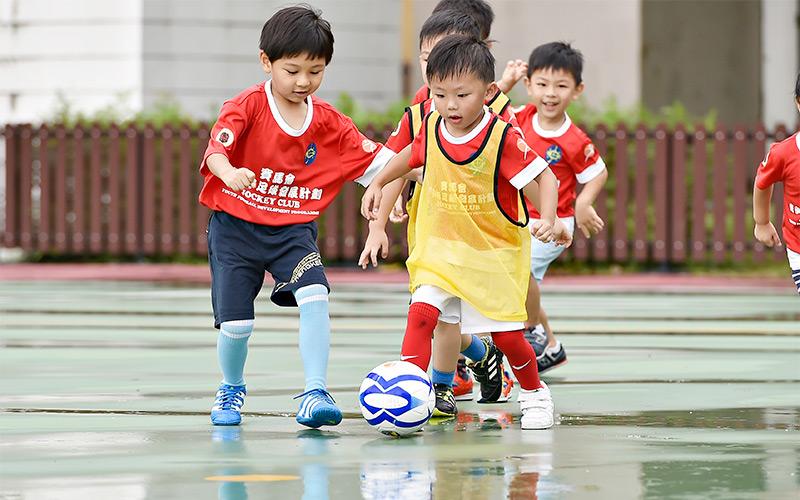 the football for children