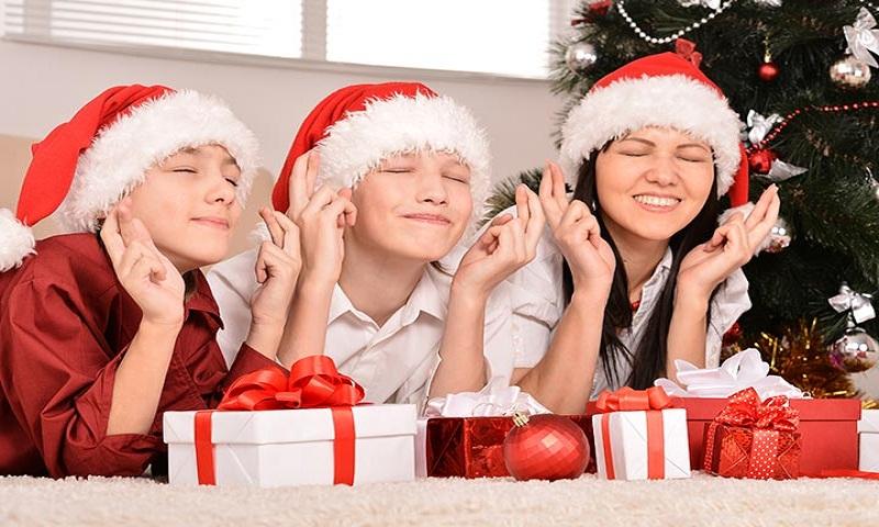 the Christmas entertainment