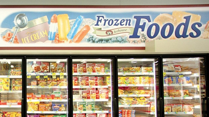 Sale frozen foods