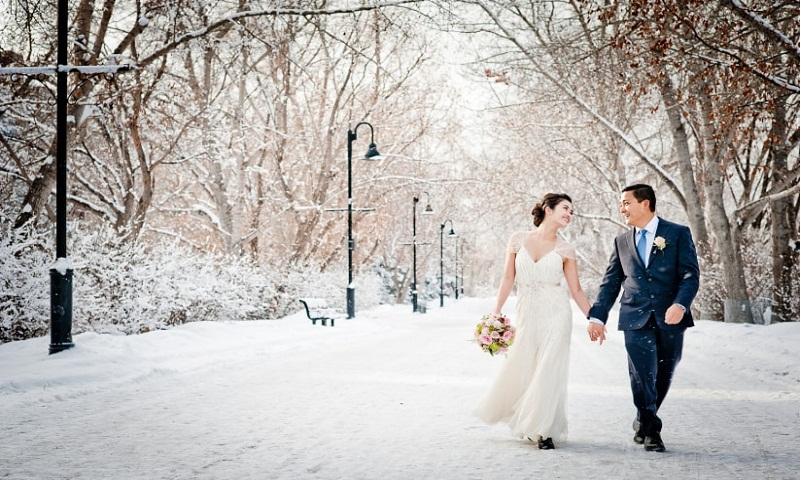 top winter wedding