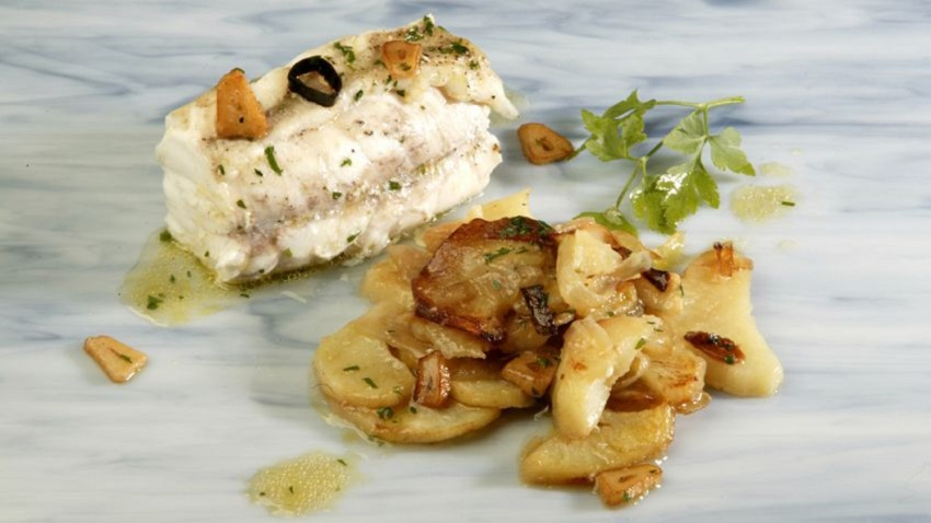 Delicious fish dishes