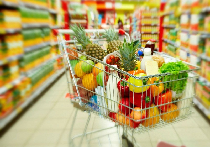 Sale food retail