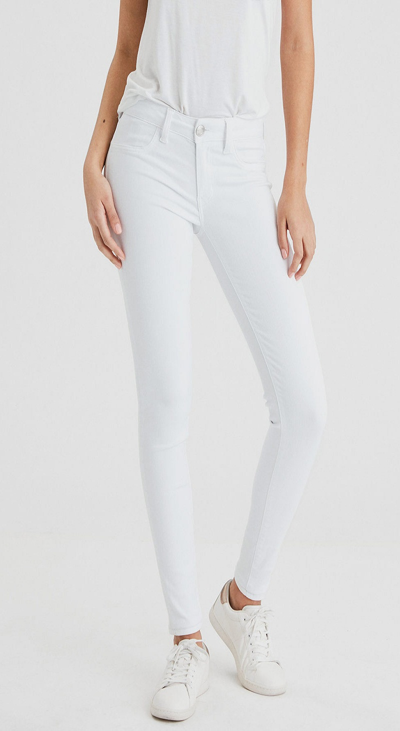 before wearing white pants