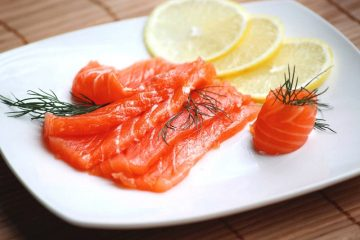 Lightly Salted Salmon - Recipe