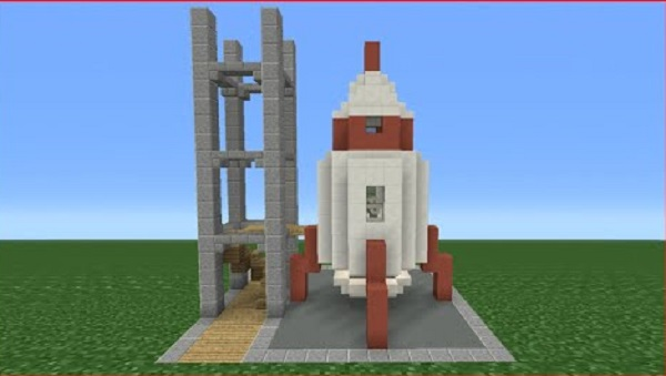 How to Make a Rocket on Minecraft